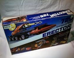 Gabriel Mechano Erector 725 Vintage Construction System Motorized Remote Control / Dual Chassis Set ()