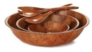 Tablecraft Wood Bowl, 12-Inch by Tablecraft by Tablecraft (Image #1)