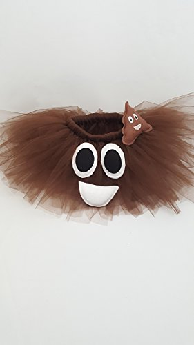 Children's Poop Emoji Tutu by Pearls and Tulle