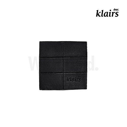 KLAIRS Suave jabón de carbón negro de azúcar, cosméticos coreanos