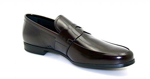Prada Heren 2de010 Lederen Zakelijke Schoenen
