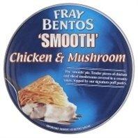 chicken and mushroom pie - 1