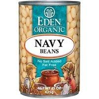 EDEN FOODS BEAN CAN NAVY NS ORG, 15 OZ by Eden