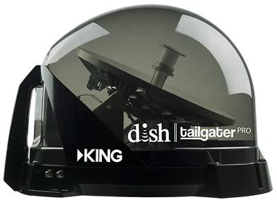 New Model – King VQ4900 Tailgater Pro Premium Satellite Antenna for Dish Network VQ4900