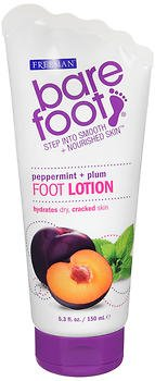 (Bare Foot Freeman Foot Lotion and Scrub, Peppermint and Plum, 2 Count)