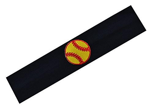 SOFTBALL Player Gift Set (Set of 3) Softball Cotton Stretch Headbands By Funny Girl Designs by Funny Girl Designs (Image #3)