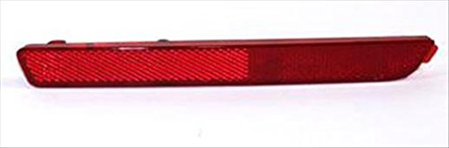 Partslink MA1184100 Multiple Manufacturers OE Replacement Bumper Cover Reflector Mazda Mazda 3 2004-2009 MA1184100N