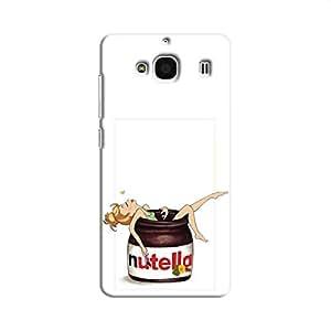 Cover It Up Nutty Love Hard Case For Xiaomi Redmi 2, Multi Color