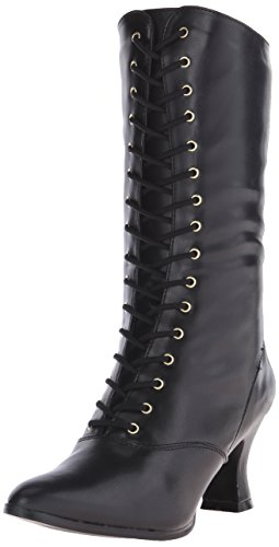 Funtasma by Pleaser Women's Victorian-120 Boot,Black,8 M