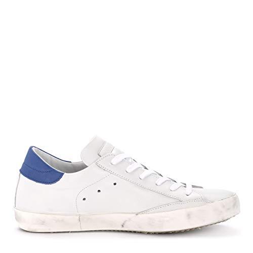 Bianca Philippe In Sneaker Model Pelle Bianco Bluette Paris E wqRFX6q