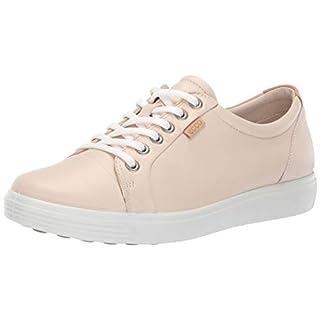 ECCO Women's Soft 7 Sneaker, Vanilla Metallic, 39 M EU (8-8.5 US)