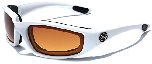 Choppers - Men's Sport Biker Motorcycle Goggles with Impact Resistant UV400 - Goggle Ski Shades