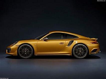 "Porsche 911 Turbo S Exclusive Series 2017 Poster 18"" X 24"" - Porsche 911"
