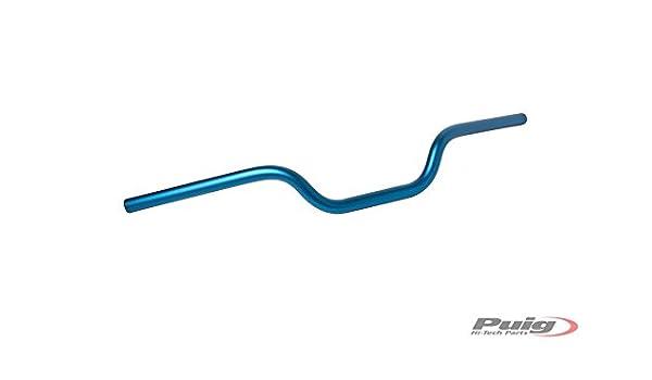 Puig 7494A Manillar de 22 mm Altura de 46 mm Color Azul