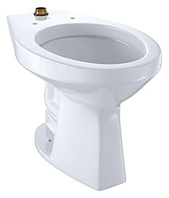 TOTO Toilet Bowl, Floor Mounting Style, Elongated, 1.0 Gallons per Flush