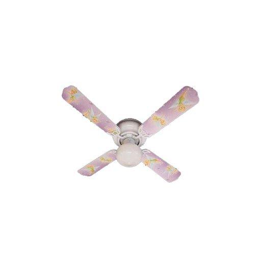Ceiling Fan Designers Ceiling Fan, Tinkerbell Fairy Green, 42