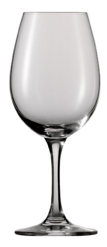 Schott Zwiesel Tritan Crystal Glass Stemware Sensus Collection Wine Tasting Glass, 12-Ounce, Set of 6