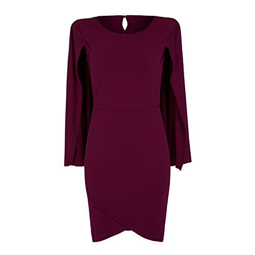 WorkTd Womens Solid Batwing Sleeve product image