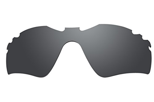 Polarized Lenses Replacement for Oakley Radar Path Vented Sunglasses - 6 Options Available (Stealth - Radars Oakleys