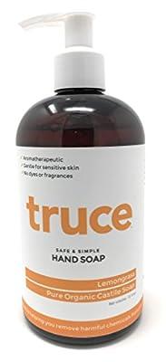 TRUCE Pure Organic Castile Hand Soap