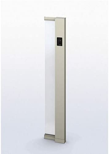 YKKAP ルシアス サインポール A01型 URC-A01 照明なし インターホン加工付き Rタイプ アルミカラー *表札はネームシールとなります 『機能門柱 機能ポール』 プラチナステン