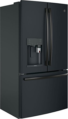 GE Slate Series 36 Smart Counter Depth French Door Refrigerator cu. Total Capacity, in Black Slate