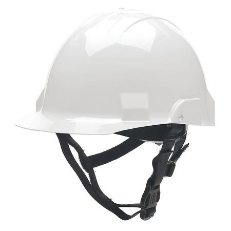 Fire/Rescue Helmet, Thermoplastic, White by BULLARD (Image #1)