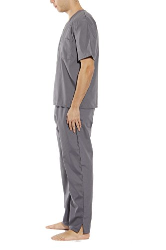Scrubs Medical Grey Unisex Neck Scrub Tropi V Sets Steel 8q7Iwt