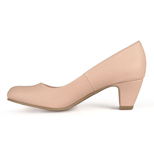 Womens Pumps Classic Collection Toe Nude Journee Comfort Round Fit 10a5zBqw