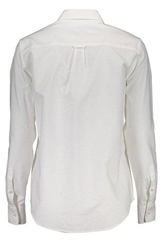 Para Gant Camisa 110 Mujer Bianco qv6RwxX7