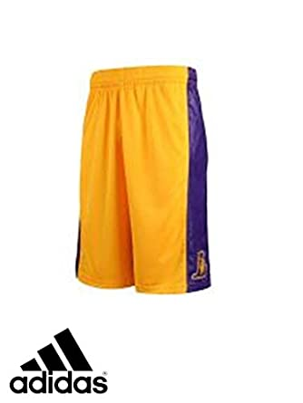adidas NBA LA Lakers Basketball Shorts fb0b6b440