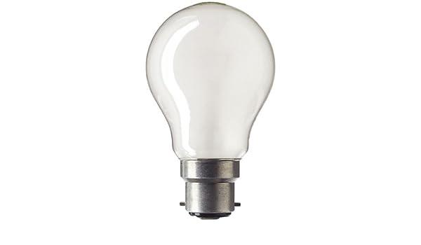 "CALEX 60W 130V B22 BC BAYONET FROSTED PEARL LIGHT BULB 2-1//2/"" *** NEW"