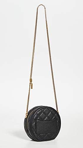Marc Jacobs Femmes statut sac à dos rond Noir Une Taille