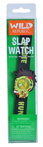 Wild Republic Zombie, Slap Bracelets for Kids, Toy Watch, Zombie Toys, Undead, 9