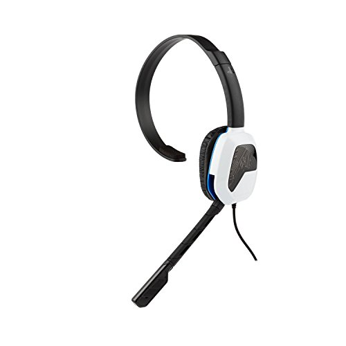 PDP Sony Afterglow LVL 1 Chat Headset 051-031-NA-WH, White by PDP