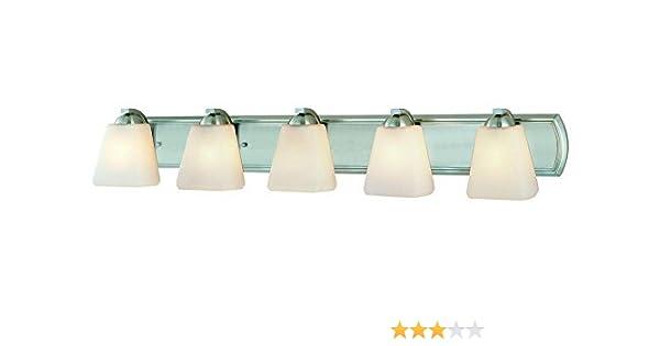 Dolan Designs 3952-09 Horizon 2 Light Bathroom Fixture Satin Nickel