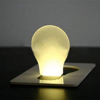 Sonline LED Lumiere de poche comme Carte de credit