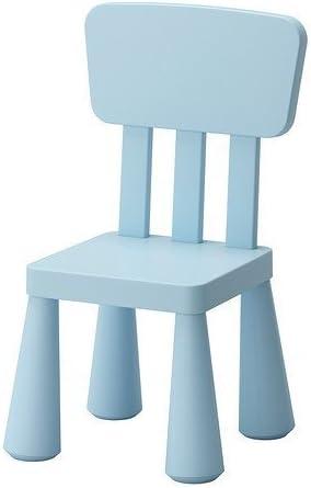 Amazon Com Ikea Mammut Children S Chair Light Blue Indoor