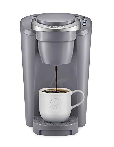 Keurig K-Compact Single-Serve K-Cup Pod Coffee Maker (Grey) by Keurig