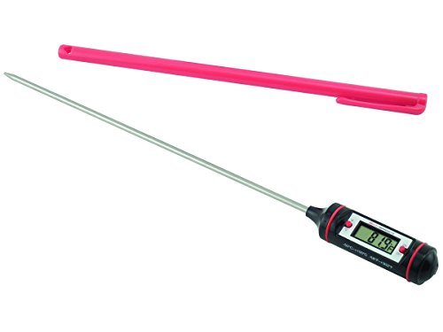 General Tools DT310LAB Digital Lab Thermometer with 8-Inch Stainless Steel Probe
