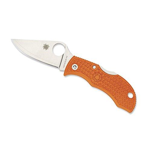 Spyderco LBORP3E Orange Ladybug
