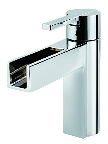 Pfister LF042VGCC Vega Single Control 4 Inch Centerset Bathroom Faucet in Polished Chrome, Water-Efficient Model