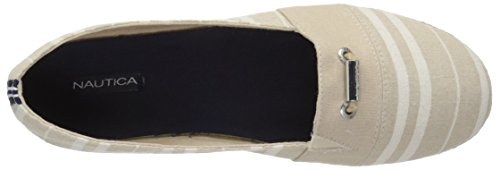 Nautica Womens Althea Slip-on Loafer Donker Been Cabana Streep