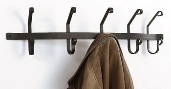 30 Inch Coat Bar with 5 hooks