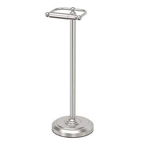 Gatco 1436SN Pedestal Toilet Paper Holder, Satin ()