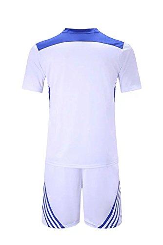 Abbigliamento Rapida Da Bozevon shirt Pantaloncini Ad Tuta Bianco Set T Asciugatura Sportivo Ottimale Adulti Allenamento Bambini Uomo Per ASrvzXAq