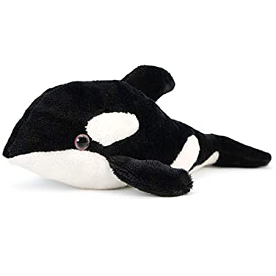 VIAHART Owen The Baby Orca | 8.5 Inch Killer Whale Stuffed Animal Plush Blackfish | by Tiger Tale Toys
