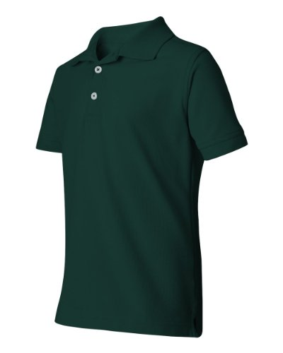 French Toast S/S Pique Polo - green, 5