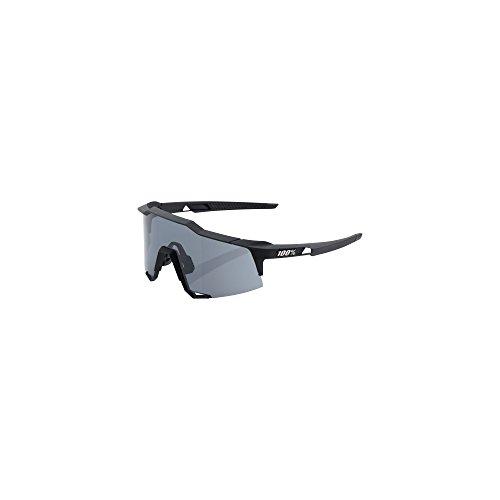 100% Unisex-Adult Speedlab (61001-100-57) Speedcraft-Soft Tact Black-Smoke Lens, Free -