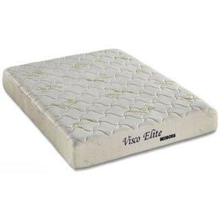 The Bed Boss 8-Inch Visco Elite CertiPUR-US Memory Foam Mattress, Twin